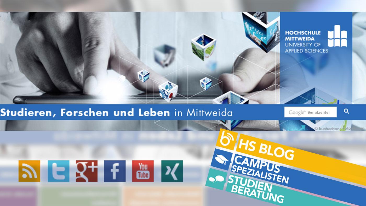 Homepage im neuen Look – Hochschule Mittweida