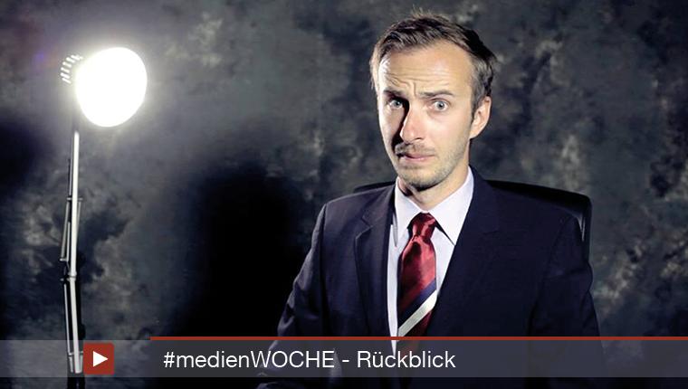 #medienWOCHE: 24. bis 30. Januar 2015