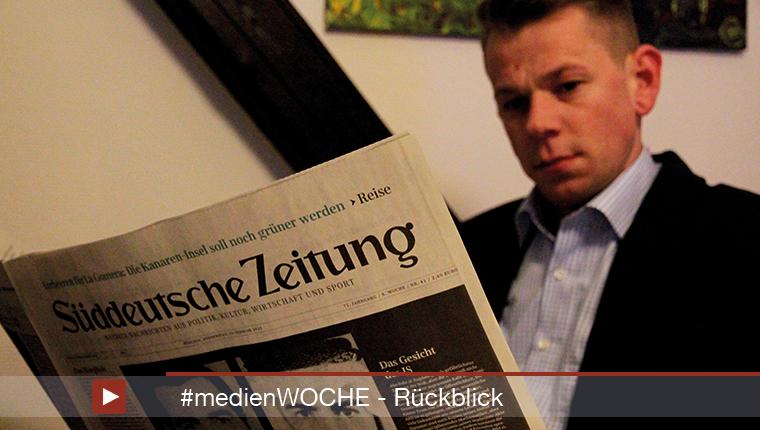 #medienWOCHE: 14. bis 20. Februar 2015