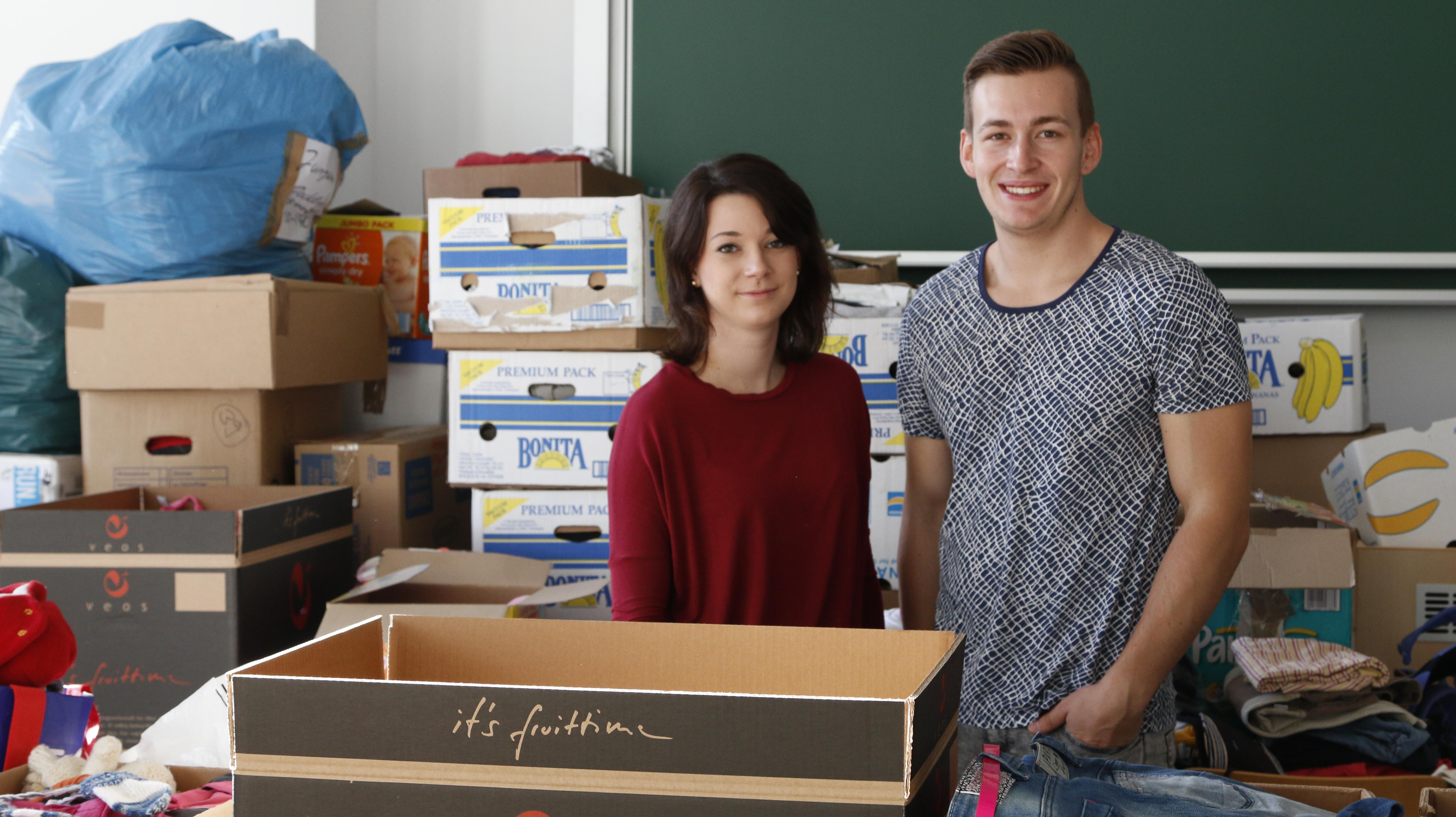 Hilfe für Flüchtlinge in Mittweida: Studentenrat an erster Stelle