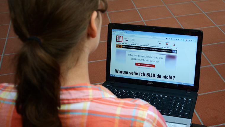 BILD.de: Bis hierhin und nicht weiter