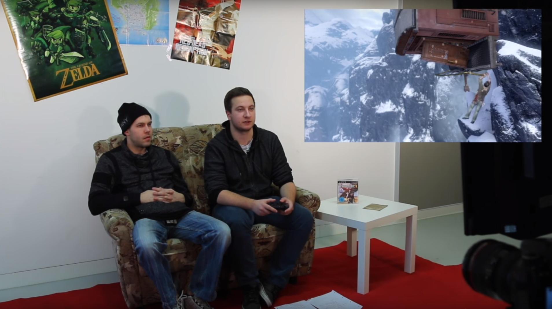 COUCH OF GAMES #2 – Nathan Drake auf den Fersen!