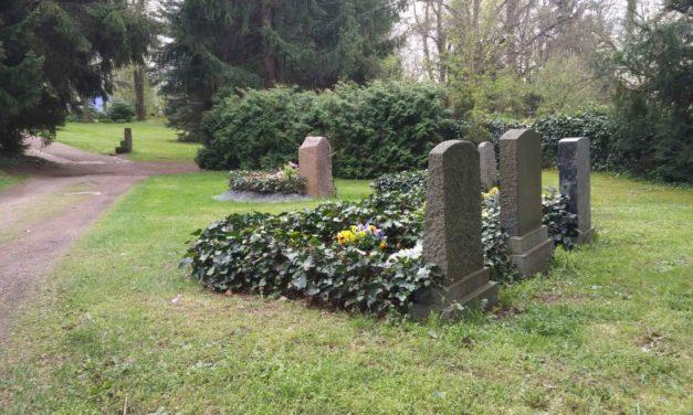 Friedhof – Treffpunkt für Gedanken über den Tod