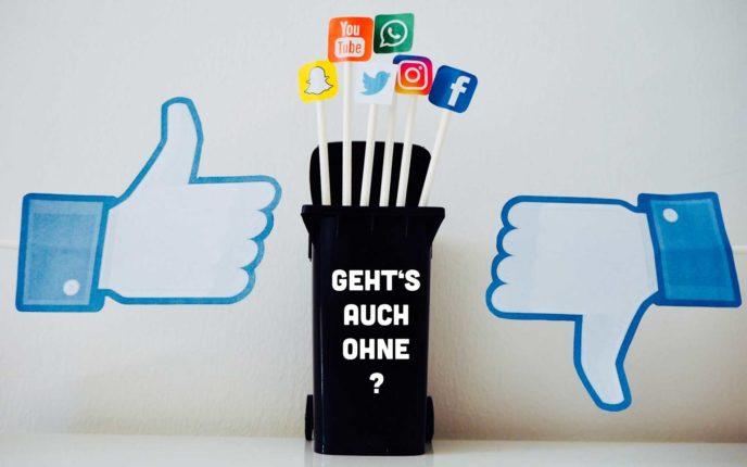 Soll ich auf Social Media verzichten?