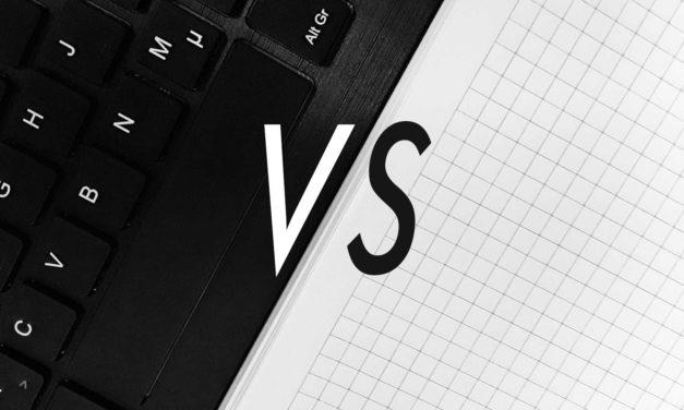 Papier oder Laptop – Womit studiert es sich besser?