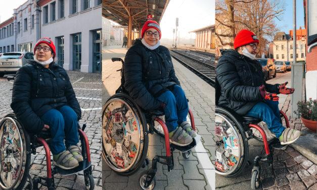 Im Rollstuhl durch Mittweida