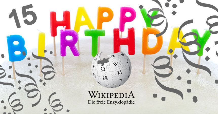 Happy Birthday, Wikipedia Deutschland!